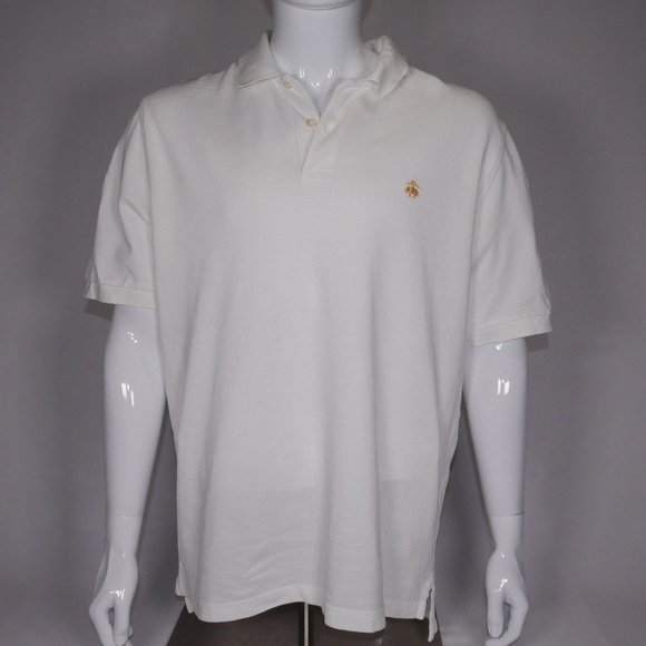 Brooks Brothers Other - Brooks Brothers Men's Off-White Polo L With Stain
